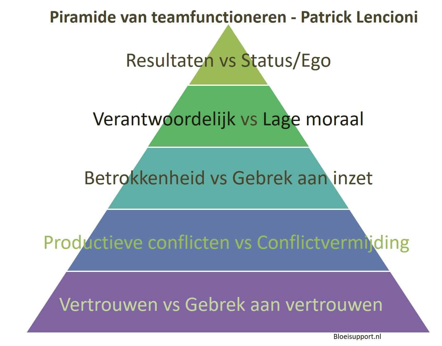 5 aspecten van succesvol teamfunctioneren